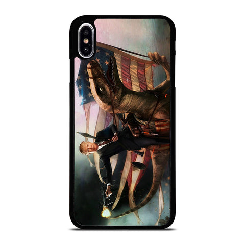 DONALD TRUMP AMERICAN RAPTOR iPhone XS Max Case Cover