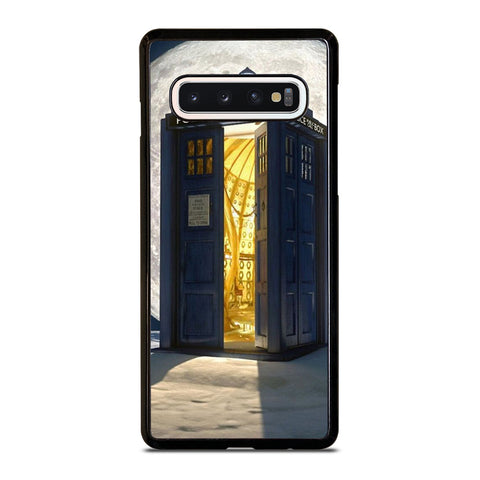 DR WHO TARDIS BOX amsung Galaxy S10 Case Cover