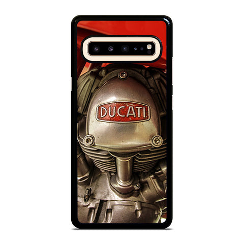 DUCATI ENGINE LOGO RETRO Samsung Galaxy S10 5G Case Cover