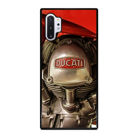 DUCATI ENGINE LOGO RETRO Samsung Galaxy Note 10 Plus Case Cover
