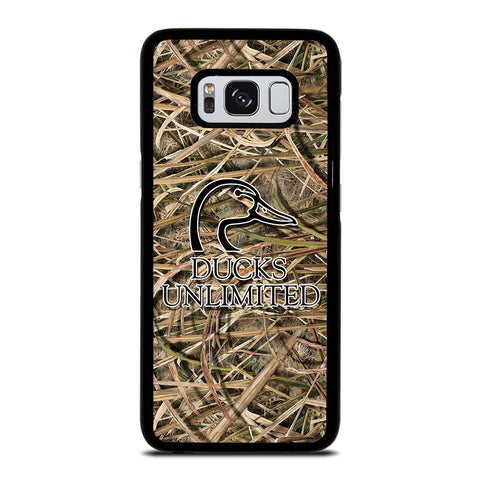 DUCKS UNLIMITED CAMO LOGO Samsung Galaxy S8 Case Cover