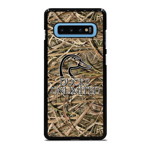DUCKS UNLIMITED CAMO LOGO Samsung Galaxy S10 Plus Case Cover