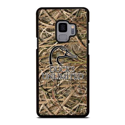 DUCKS UNLIMITED CAMO LOGO Samsung Galaxy S9 Case Cover