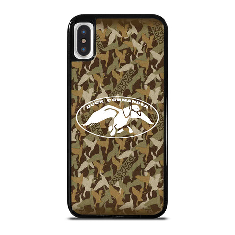 DUCK DYNASTY CAMO LOGO iPhone X / XS Case Cover