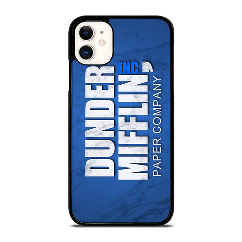 DUNDER MIFFLIN LOGO MARBLE iPhone 11 Case Cover