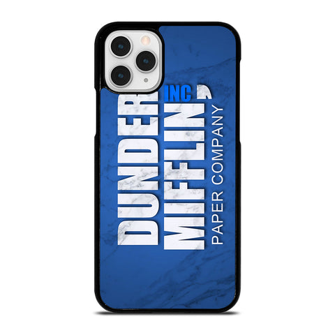 DUNDER MIFFLIN LOGO MARBLE iPhone 11 Pro Case Cover