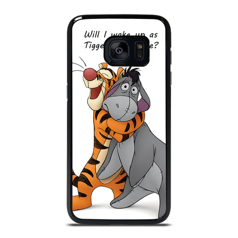 EEYORE DONKEY AND TIGGER QUOTE Samsung Galaxy S7 Edge Case Cover
