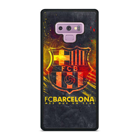 FC BARCELONA MES QUE UN CLUB Samsung Galaxy Note 9 Case Cover