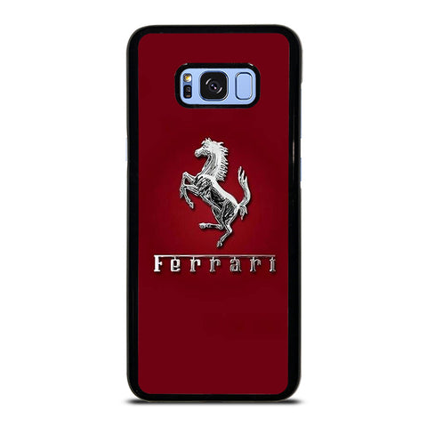 FERRARI LOGO RED Samsung Galaxy S8 Plus Case Cover