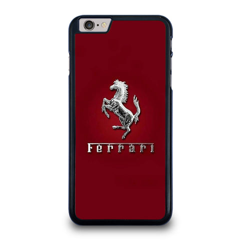 FERRARI LOGO RED iPhone 6 / 6S Plus Case Cover