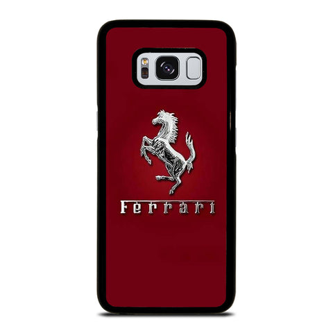 FERRARI LOGO RED Samsung Galaxy S8 Case Cover