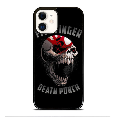FIVE FINGER DEATH PUNCH SKULL iPhone 12 Case Cover