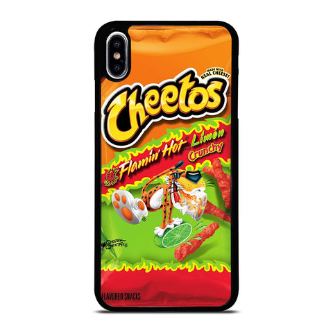FLAMIN HOT CHEETOS LIMON CRUNCHY iPhone XS Max Case Cover