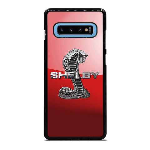 FORD MUSTANG SHELBY COBRA RED LOGO Samsung Galaxy S10 Plus Case Cover