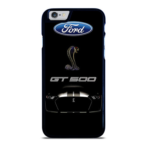 FORD MUSTANG GT BLACK iPhone 6 / 6S Case Cover