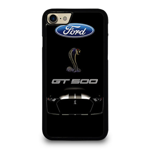 FORD MUSTANG GT BLACK iPhone 7 / 8 Case Cover
