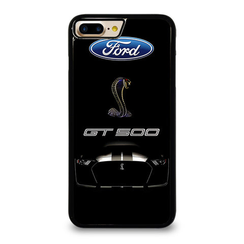 FORD MUSTANG GT BLACK iPhone 7 / 8 Plus Case Cover
