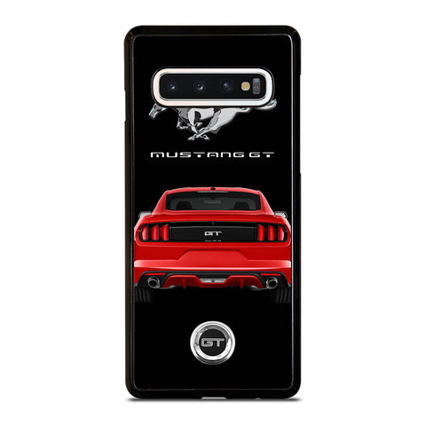 FORD MUSTANG GT RED CAR Samsung Galaxy S10 Case Cover