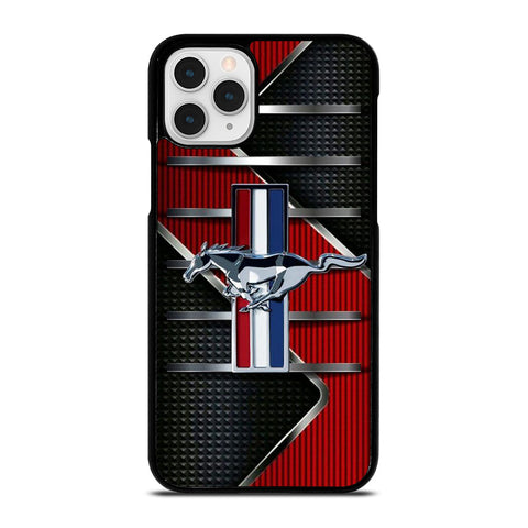 FORD MUSTANG METAL LOGO iPhone 11 Pro Case Cover