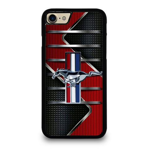 FORD MUSTANG METAL LOGO iPhone 7 / 8 Case Cover