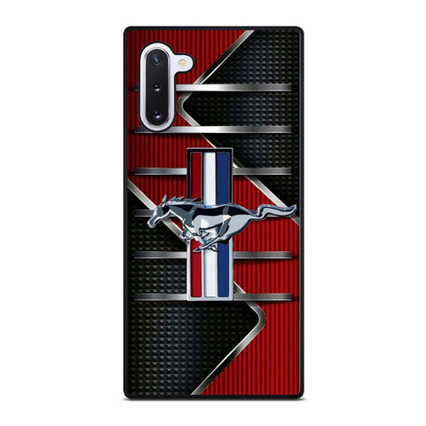 FORD MUSTANG METAL LOGO Samsung Galaxy Note 10 Case Cover