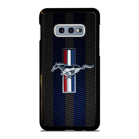 FORD MUSTANG STRIPE LOGO Samsung Galaxy S10e Case Cover