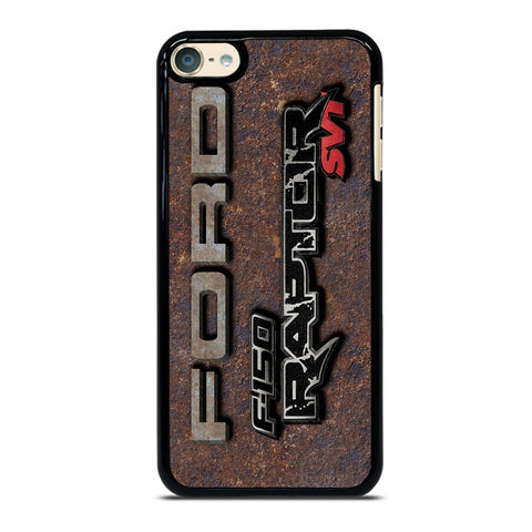 FORD RAPTOR METAL LOGO iPod Touch 6 Case