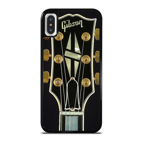 GIBSON GUITAR HEAD LOGO iPhone X / XS Case Cover