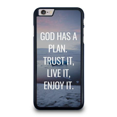 GOD HAS A PLAN QUOTE iPhone 6 / 6S Plus Case Cover