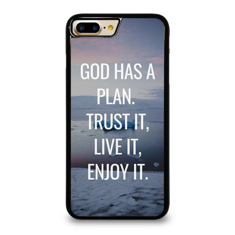 GOD HAS A PLAN QUOTE iPhone 7 / 8 Plus Case Cover