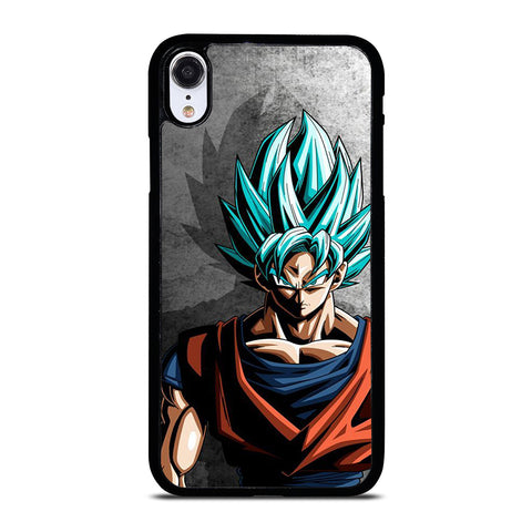GOKU SAIYAN BLUE DRAGON BALL iPhone XR Case Cover