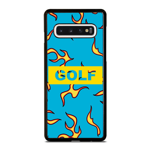 GOLF WANG FLAME LOGO Samsung Galaxy S10 Case Cover