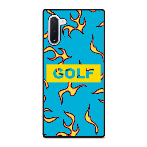 GOLF WANG FLAME LOGO Samsung Galaxy Note 10 Case Cover