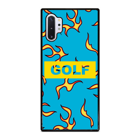 GOLF WANG FLAME LOGO Samsung Galaxy Note 10 Plus Case Cover