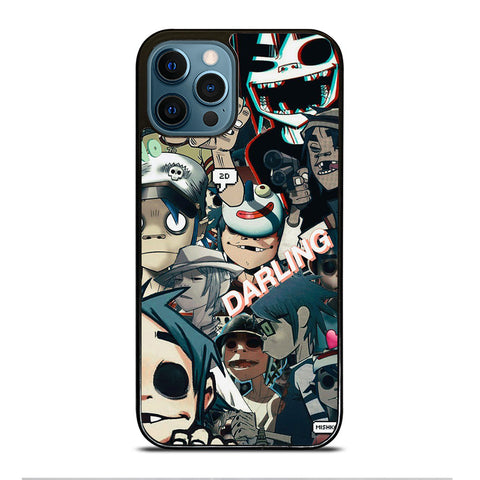 GORILLAZ 2D COLLAGE iPhone 12 Pro Max Case Cover