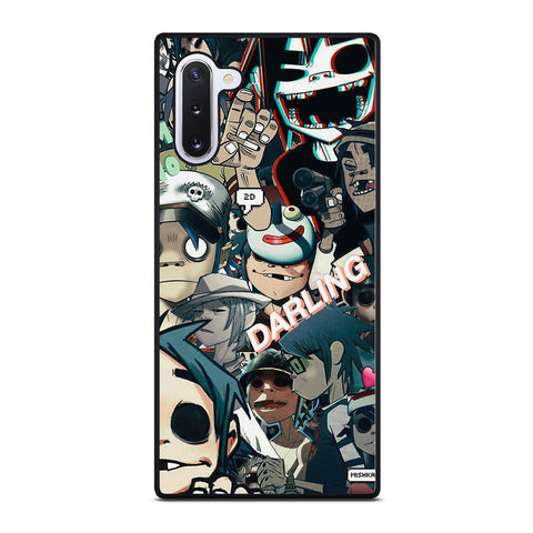 GORILLAZ 2D COLLAGE Samsung Galaxy Note 10 Case Cover