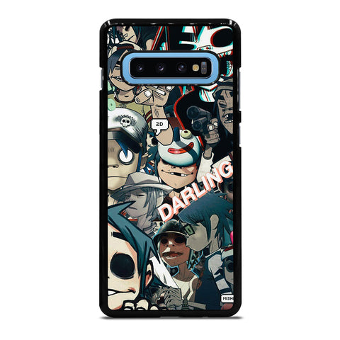 GORILLAZ 2D COLLAGE Samsung Galaxy S10 Plus Case Cover
