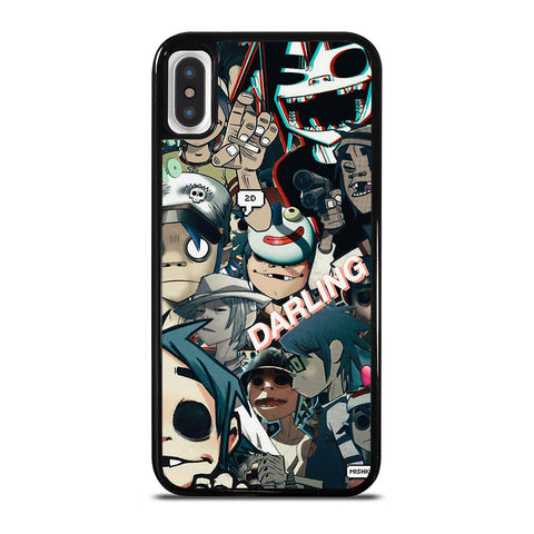 GORILLAZ 2D COLLAGE iPhone X / XS Case Cover