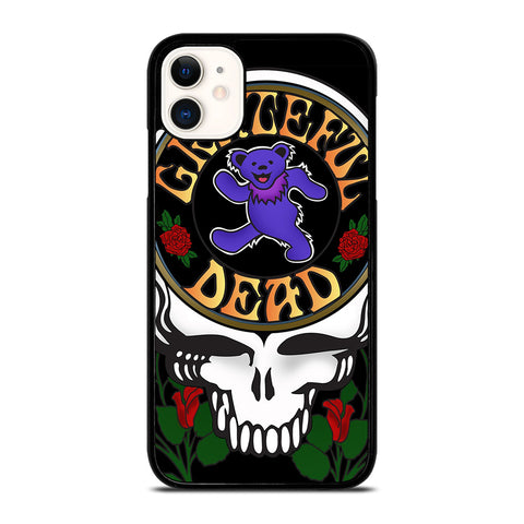 GRATEFUL DEAD FLORAL iPhone 11 Case Cover