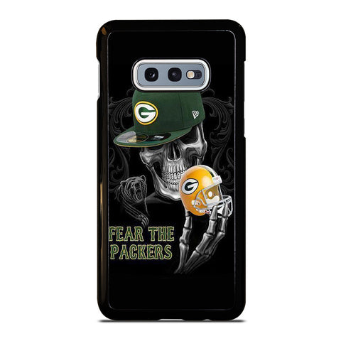 GREEN BAY PACKERS SKULL Samsung Galaxy S10e Case Cover