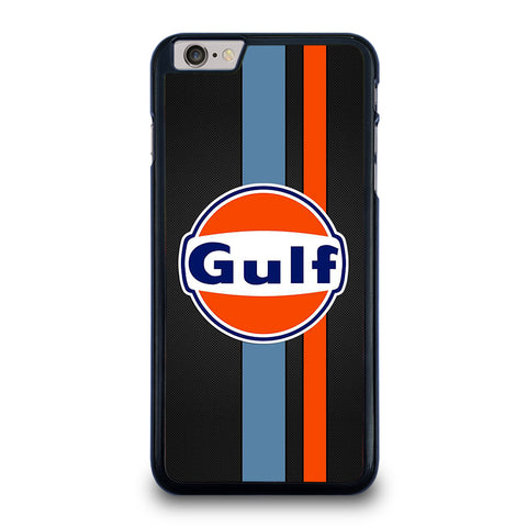 GULF OIL MOTOR CARBON LOGO iPhone 6 / 6S Plus Case Cover
