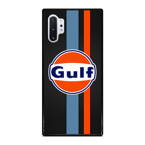 GULF OIL MOTOR CARBON LOGO Samsung Galaxy Note 10 Plus Case Cover