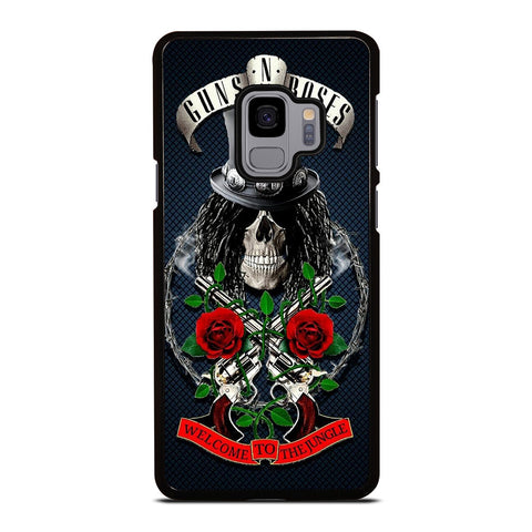 GUNS N ROSES GROUP ROCK BAND Samsung Galaxy S9 Case Cover