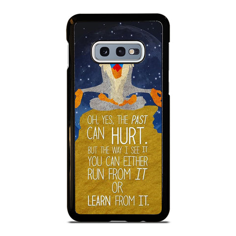 HAKUNA MATATA QUOTE Samsung Galaxy S10e Case Cover