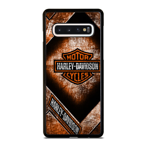 HARLEY DAVIDSON MOTORCYCLE ICON Samsung Galaxy S10 Case Cover
