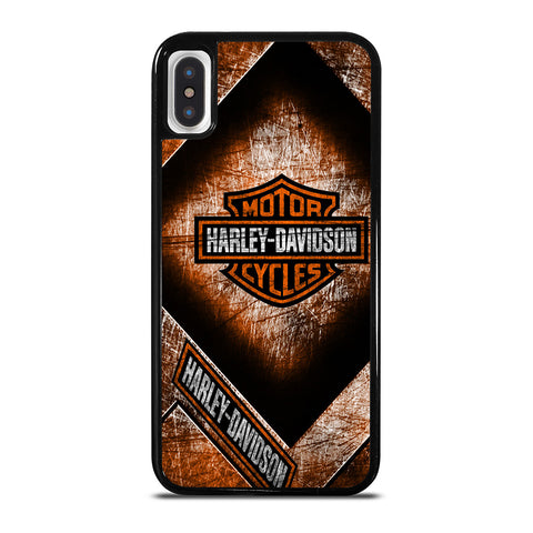 HARLEY DAVIDSON MOTORCYCLE ICON iPhone X / XS Case Cover