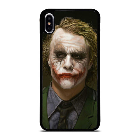 HEATH LEDGER THE JOKER iPhone XS Max Case Cover