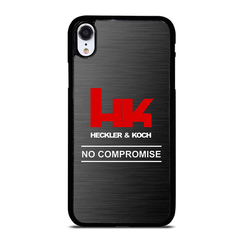 HECKLER AND KOCH NO COMPROMISE iPhone XR Case Cover