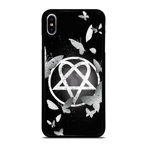 HIM BAND HEARTAGRAM ICON iPhone XS Max Case Cover