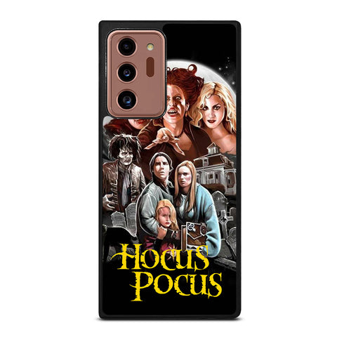 HOCUS POCUS DISNEY POSTER Samsung Galaxy Note 20 Ultra Case Cover